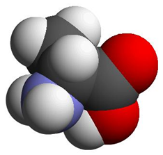 Alanine - CPK representation